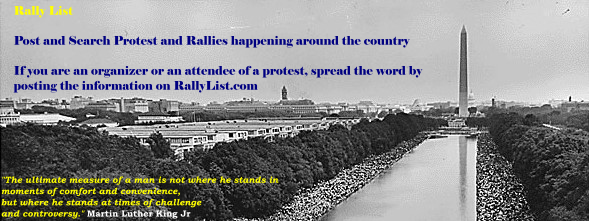 Find Protest and Rallies